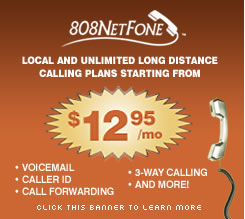 808NetFone. Digital phone service with extra features.